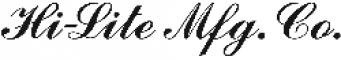 Hi-Lite Manufacturing Company logo
