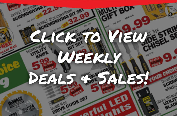 Check out our weekly deals!