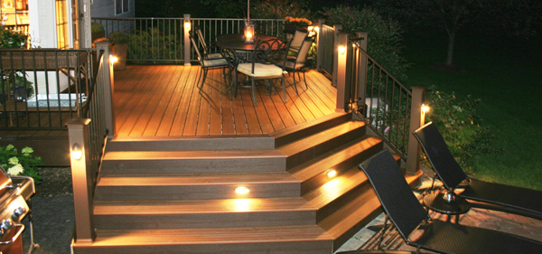 And Don T Forget Lighting Options For Your New Deck Are The Lights By Patio Door Enough Do You Need Additional Post Mounted