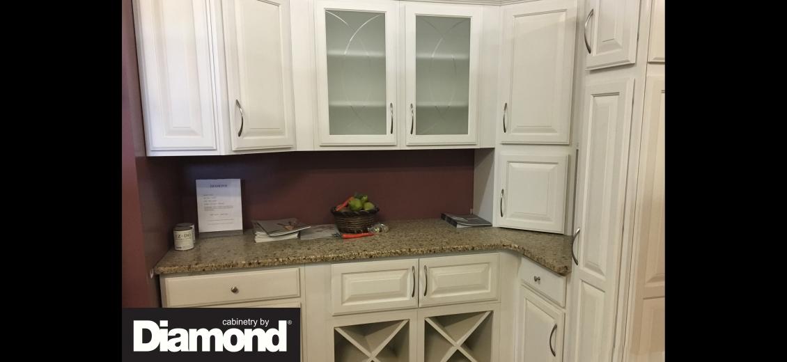 Diamond Distinction kitchen display at Cortland HEP Sales/North Main Lumber, 797 Route 13