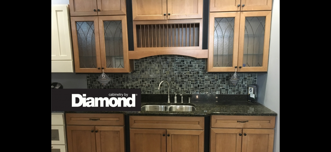 Diamond Distinction kitchen display at Ithaca HEP Sales, 12 Utility Drive